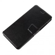 Crazy Horse Leather Card Holder Case for Xiaomi Redmi Pro - Black