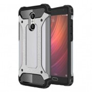 Armor Guard Plastic + TPU Hybrid Shell for Xiaomi Redmi Pro - Grey