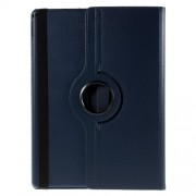 For iPad Pro 12,9 inch 360-Rotation Lychee Smart Leather Stand Case - Dark Blue