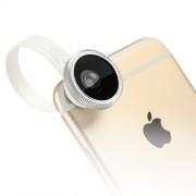 BASEUS Εξάρτημα για Κάμερα Κινητών που Περιστρέψει 180 μοίρες, Μεγαλώνει 10Χ και Κάνει Ευρυγώνιο το Φακό 0.67x