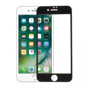 Soft Edge Tempered Glass Screen Protector for iPhone 7 - Black