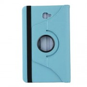 Litchi Texture Rotary Stand Leather Case for Samsung Galaxy Tab A 10.1 (2016) T580 T585 - Baby Blue