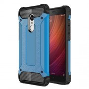 Armor Guard Plastic + TPU Combo Shell Case for Xiaomi Redmi Note 4X - Baby Blue