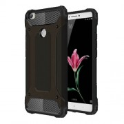 Armor PC TPU Phone Shell for Xiaomi Mi Max - Black