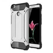 Tough Armor Υβριδική Θήκη Σιλικόνης TPU σε Συνδυαμό με Πλαστικό για Xiaomi Mi Max - Ασημί