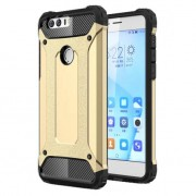 Armor Guard Plastic + TPU Combo Case for Huawei Honor 8 - Gold