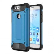 Armor Guard Plastic + TPU Combo Cover for Huawei Honor 8 - Baby Blue