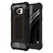 Armor Guard Plastic + TPU Shell Cover for Samsung Galaxy C5 - Black