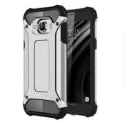 Armor Shield Plastic + TPU Case Cover for Samsung Galaxy C5 - Silver
