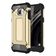Armor Shield Plastic + TPU Shell Case Cover for Samsung Galaxy C5 - Gold
