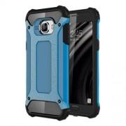Armor Guard Plastic + TPU Phone Cover for Samsung Galaxy C5 - Light Blue
