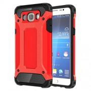 Tough Armor Υβριδική Θήκη Σιλικόνης TPU σε Συνδυαμό με Πλαστικό για Samsung Galaxy J5 (2016) - Κόκκινο