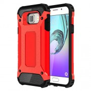 Armor Guard PC TPU Back Cover for Samsung Galaxy A3 SM-A310F (2016) - Red