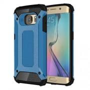 Tough Armor Υβριδική Θήκη Σιλικόνης TPU σε Συνδυαμό με Πλαστικό για Samsung Galaxy S6 Edge G925 - Γαλάζιο