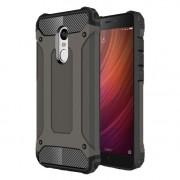 Armor Guard Plastic + TPU Combo Shell Case for Xiaomi Redmi Note 4X - Coffee