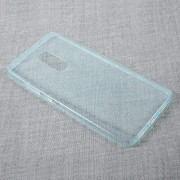 Clear TPU Ultra Thin Cell Phone Case for Xiaomi Redmi Note 4 - Baby Blue