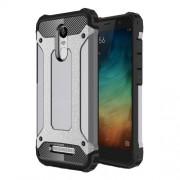 Tough Armor Υβριδική Θήκη Σιλικόνης TPU σε Συνδυαμό με Πλαστικό για Xiaomi Redmi Note 3 / Note 3 Pro - Γκρι