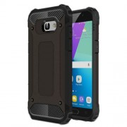 Armor Guard Plastic + TPU Hybrid Case for Samsung Galaxy A5 (2017) - Black