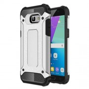 Armor Guard Plastic + TPU Hybrid Case Shell for Samsung Galaxy A5 (2017) - Silver