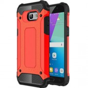 Armor Guard Plastic + TPU Hybrid Mobile Phone Case for Samsung Galaxy A5 (2017) - Red