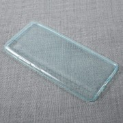 Ultra-thin Transparent Soft TPU Cell Phone Case for Xiaomi Mi 5s - Cyan