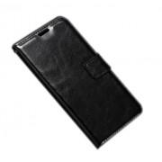 Δερμάτινη Θήκη Πορτοφόλι με Βάση Στήριξης για Samsung Galaxy A3 (2017) - Μαύρο