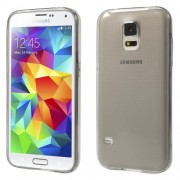 Grey for Samsung Galaxy S5 G900 Ultrathin 0.6mm Soft TPU Cover