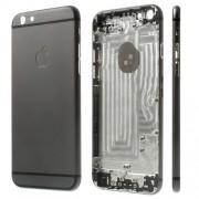 Μεταλλικό Καπάκι Μπαταρίας με Πλαινά Πλήκτρα για iPhone 6 - Σκούρο Γκρι