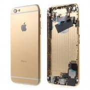 Metal Back Housing Faceplate Assembly Parts for iPhone 6 - Champagne