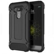 Tough Armor Υβριδική Θήκη Σιλικόνης TPU σε Συνδυαμό με Πλαστικό για LG G5 - Μαύρο
