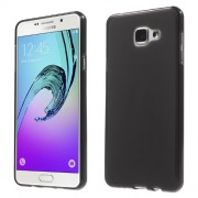 Θήκη Σιλικόνης TPU Ματ με Ημιδιάφανα Άκρα για Samsung Galaxy A7 (2016) SM-A710F - Μαύρο