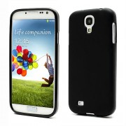 Frosted TPU Case Cover for Samsung Galaxy S 4 IV i9500 i9505 - Black