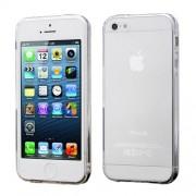 Θήκη Σιλικόνης TPU για iPhone 5 5s Ημιδιάφανη - Διάφανο