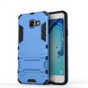Θήκη Σιλικόνης TPU σε Συνδυασμό με Πλαστικό και Βάση Στήριξης για Samsung Galaxy A3 (2016) - Γαλάζιο