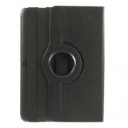 Black Litchi Leather 360 Degree Rotary Stand Case for Samsung Galaxy Tab 4 10.1 T531 T530 T535