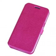 Textured Leather Card Clot Bracket Case for Samsung Galaxy Grand 2 G7106 - Rose