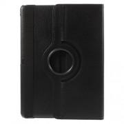 Περιστρεφόμενη Δερμάτινη Θήκη Βιβλίο με Βάση Στήριξης για Samsung Galaxy Tab S 10.5 T800 T805 - Μαύρο