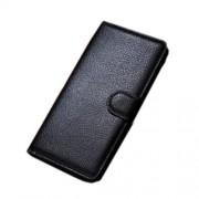 Δερμάτινη Θήκη Πορτοφόλι με Βάση Στήριξης για Samsung Galaxy A5 SM-A500F - Μαύρο