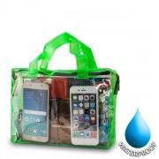 Αδιάβροχη Τσάντα  για Κινητά Διαστάσεις: 19x26cm - Πράσινο