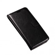 Crazy Horse Wallet Leather Stand Case for LG Nexus 5X - Black
