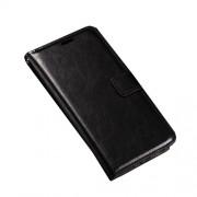 Δερμάτινη Θήκη Βιβλίο με Βάση Στήριξης LG Nexus 5X - Μαύρο