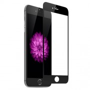 Complete Cover Tempered Glass Screen Film for iPhone 6 4,7-inch / 6s (Asashi Glass) - Black