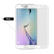 Tempered Glass Screen Protector Guard Film for Samsung Galaxy S6 Edge Plus G928 (Asashi Glass) - White