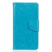 Δερμάτινη Θήκη Πορτοφόλι με Βάση Στήριξης για  LG G5 / G5 SE - Μπλε