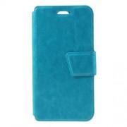 Δερμάτινη Θήκη Πορτοφόλι με Βάση Στήριξης για LG K7 - Μπλε