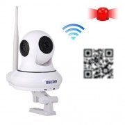 ESCAM HD 720P 1,0MP Pan/Tilt WiFi Alarm IP Camera  QF500