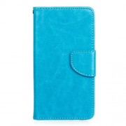 Δερμάτινη Θήκη Πορτοφόλι με Βάση Στήριξης για Samsung Galaxy J5 (2016) - Μπλε