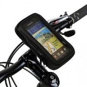 Waterproof Motorcycle Bike Handlebar Mount Holder 5,3-inch for Samsung Galaxy Note I9220 I717 / S5