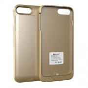 MAXNON M7P MFI Θήκη με Ενσωματωμένη Μπαταρία 4000mAh Πιστοποιημένη (Cerificated) για  iPhone 8 Plus / 7 Plus / 6s Plus / 6 Plus - Χρυσαφί