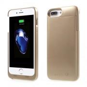 MAXNON M7 MFI Θήκη με Ενσωματωμένη Μπαταρία 4000mAh Πιστοποιημένη (Cerificated) για  iPhone 8 / 7 / 6s / 6 - Χρυσαφί